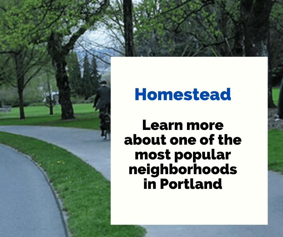 homestead - Portland Oregon Neighborhood