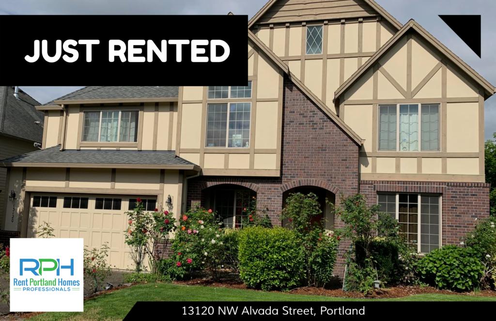 13120 NW Alvada Street, Portland - JUST RENTED