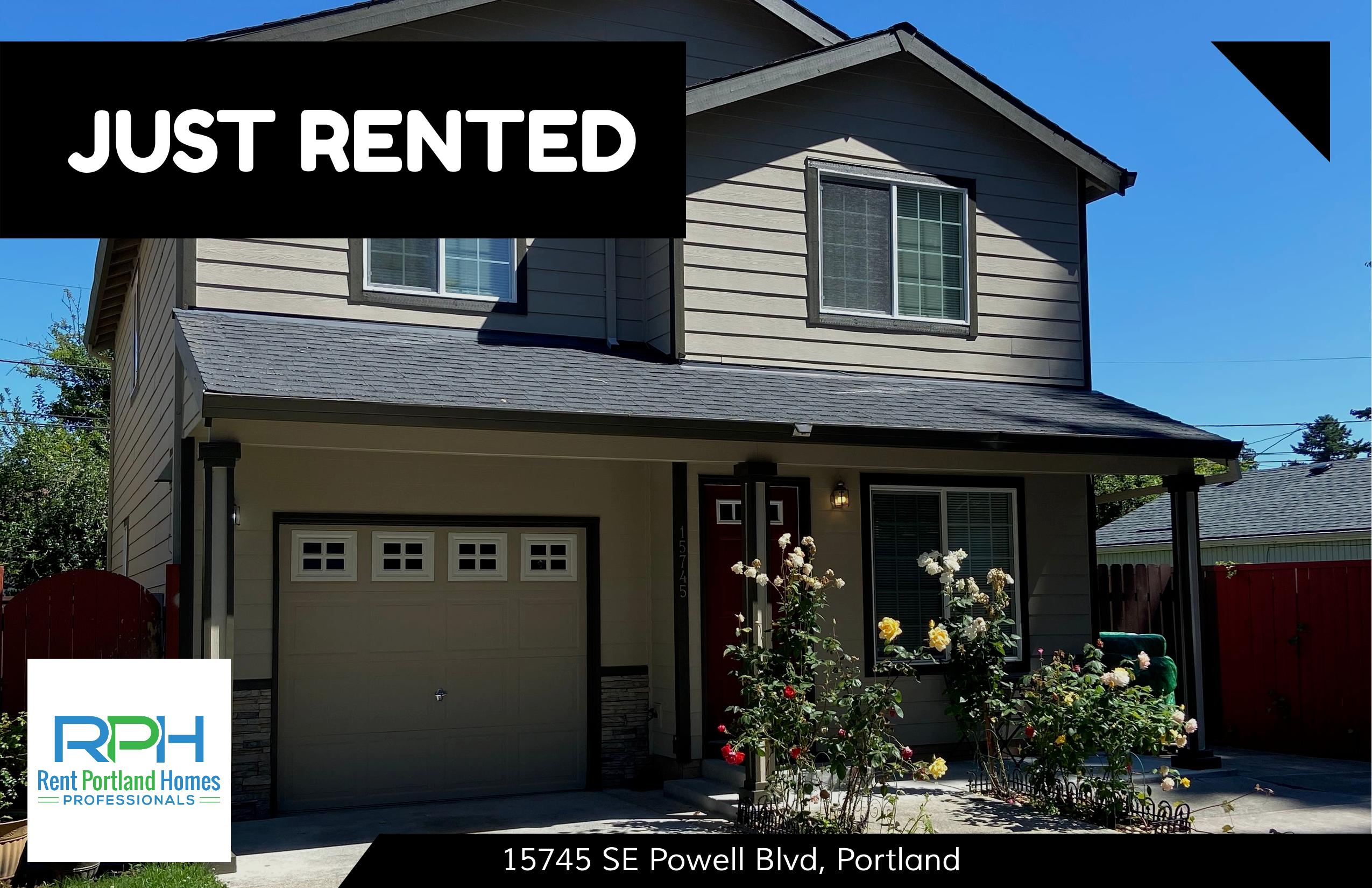 15745 SE Powell Blvd, Portland - JUST RENTED