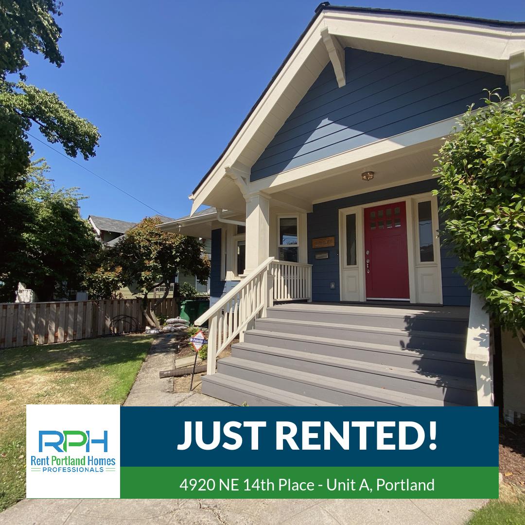 4920 NE 14th Place - Unit A, Portland - JUST RENTED